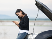 自動車のトラブルに遭遇したらまずは広島車検センターにお電話ください